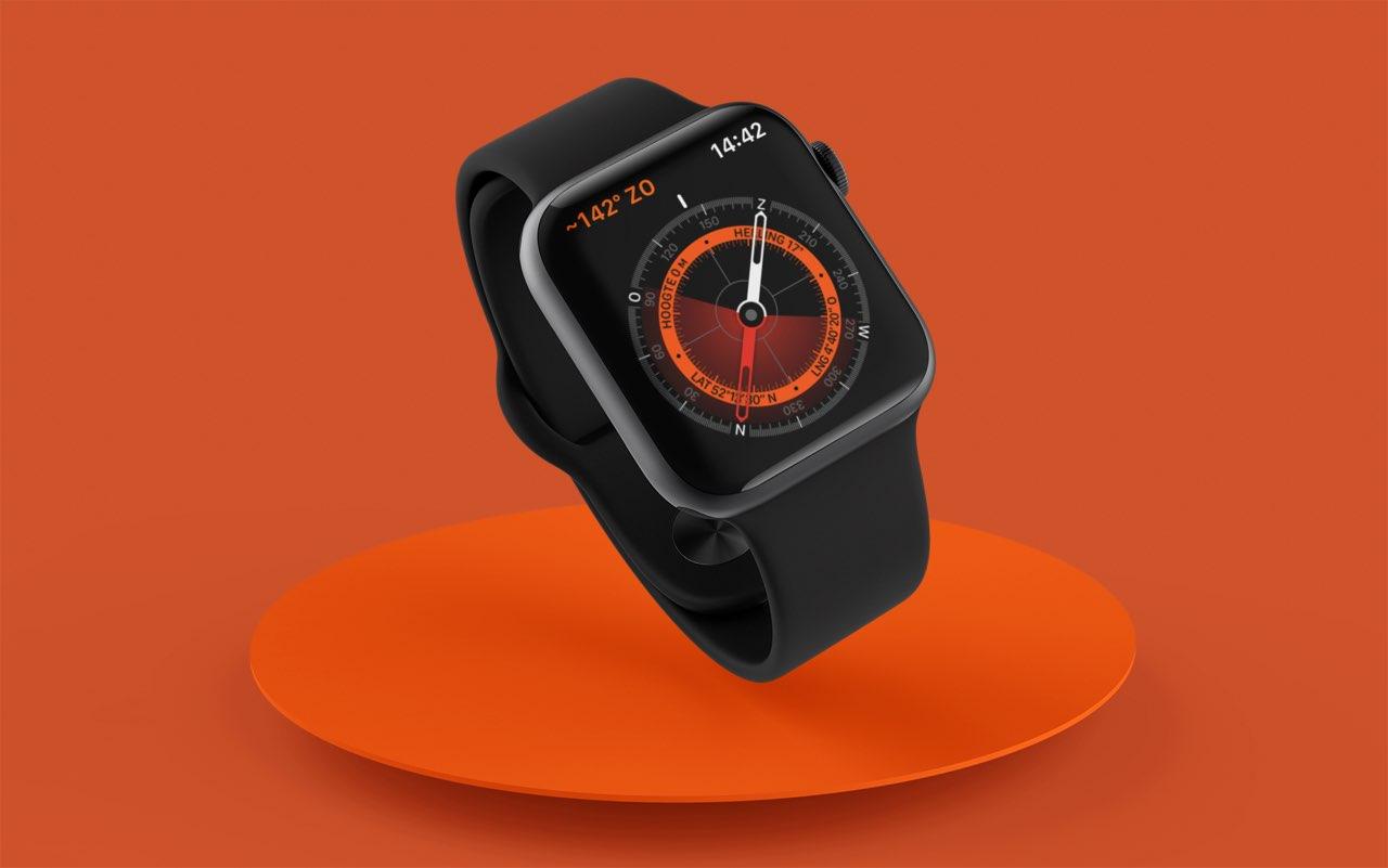 Apple Watch kompas