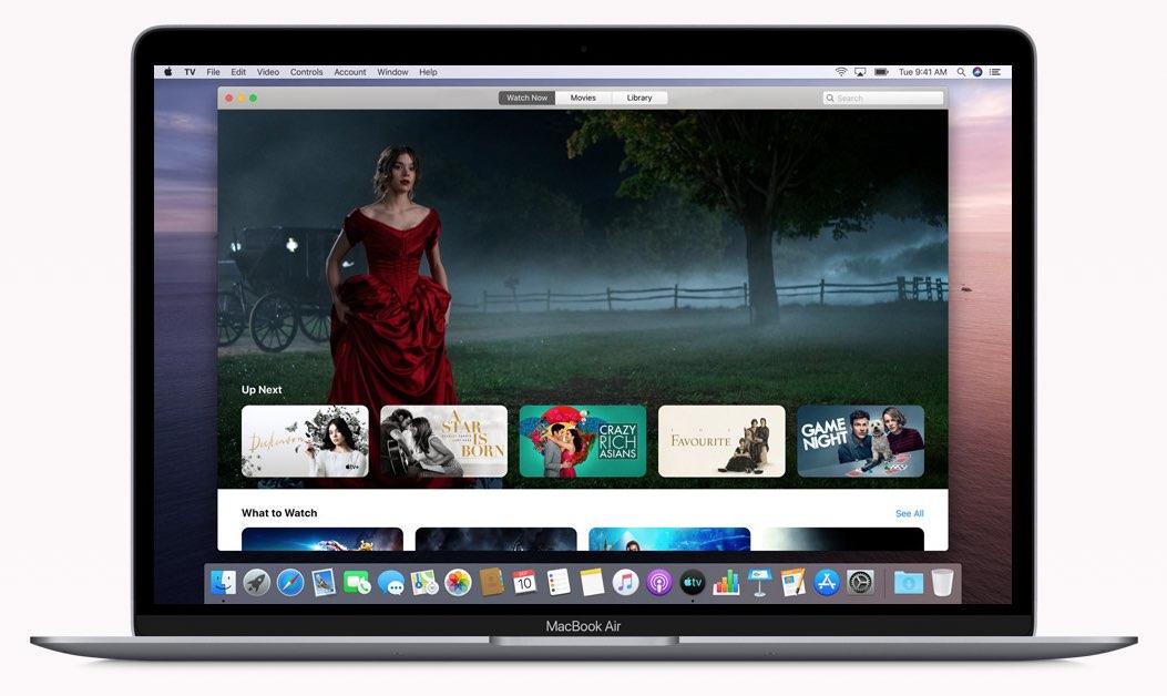 Apple TV-app op de Mac