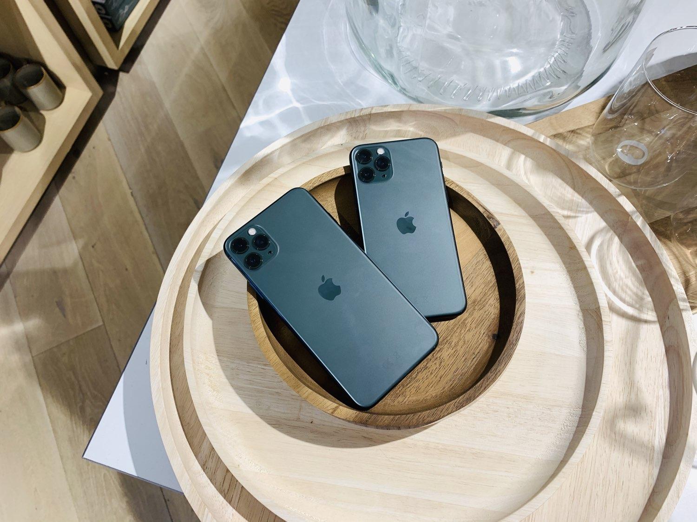 iPhone 11 Pro (Max) review: houten schalen