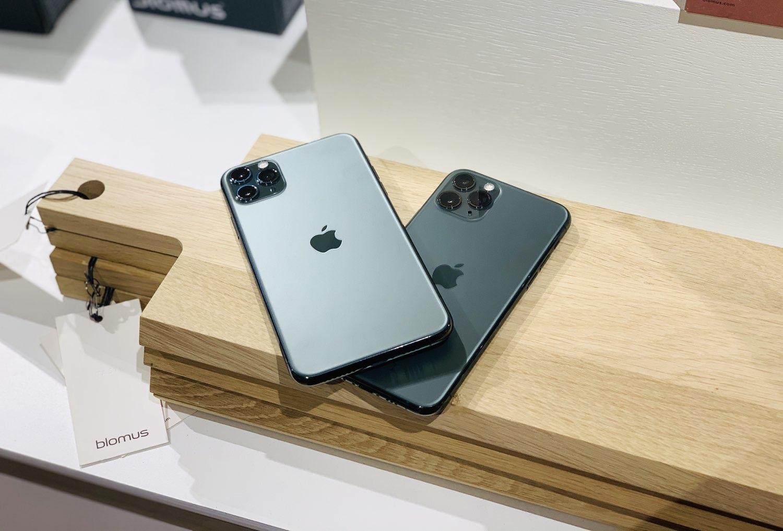 iPhone 11 Pro review: verschillende groentinten