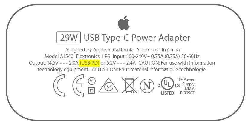 Apple USB-C adapter