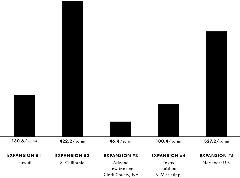Bevolkingsdichtheid Apple Kaarten