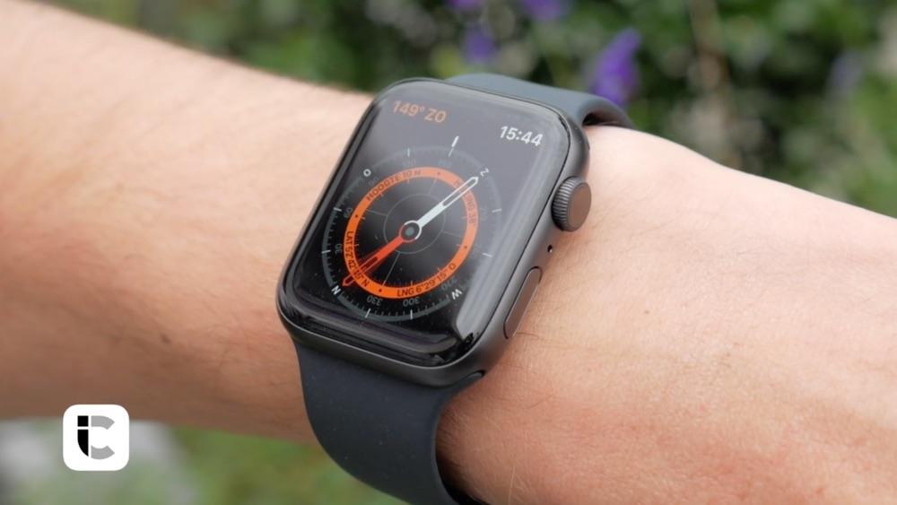Apple Watch Series 5 kompas.