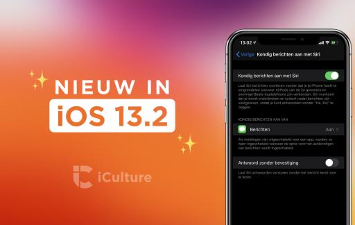 iOS 13.2 functies.