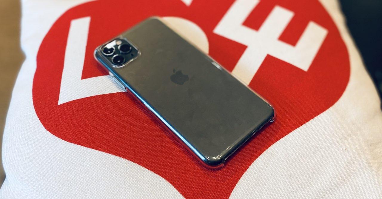 Apple doorzichtig hoesje
