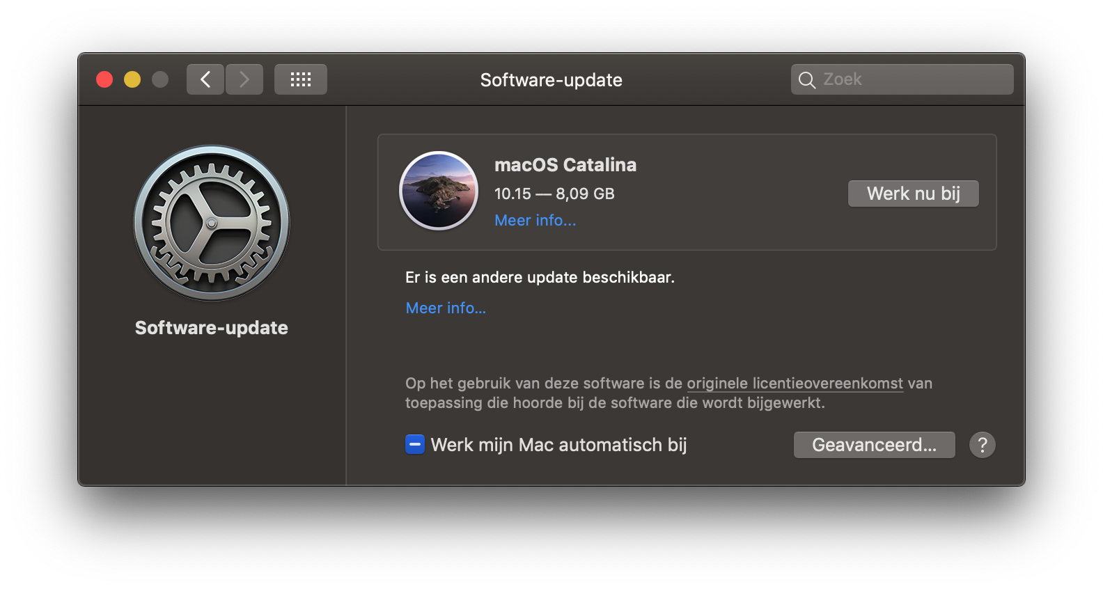 macOS Catalina downloaden.