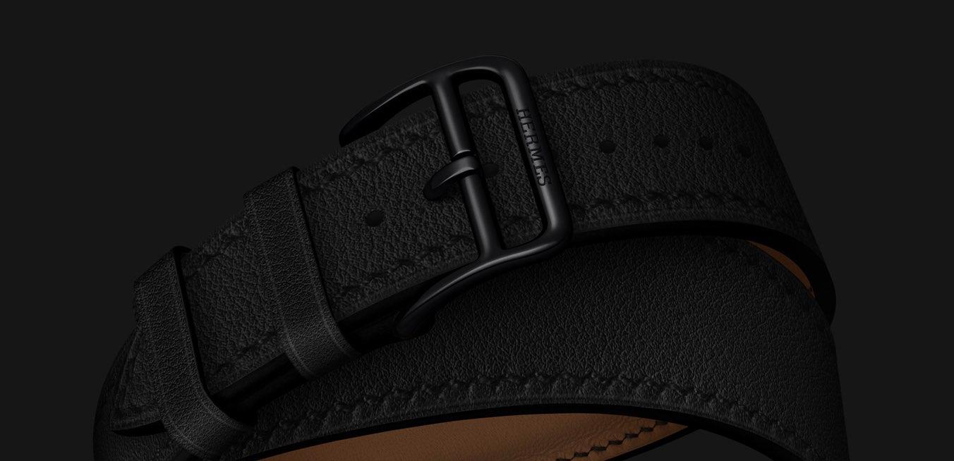 Hermes zwart bandje