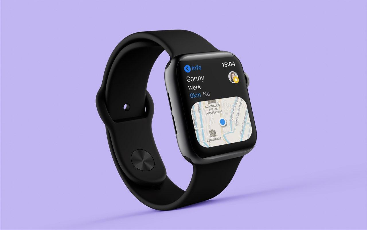 Zoek Personen op de Apple Watch
