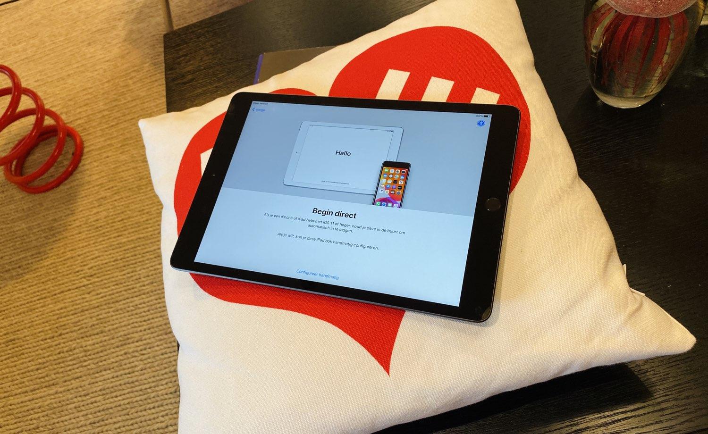 iPad 2019 scherm