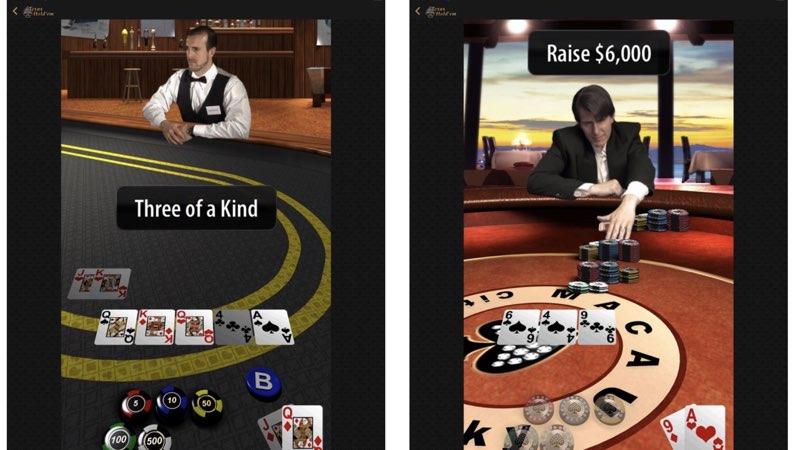 Apple Texas Hold-em iPad