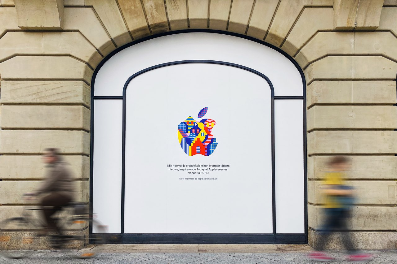 Apple Amsterdam opening 24 oktober