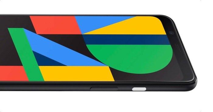 Google Pixel 4 scherm