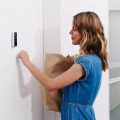 Ring deurbel met aankloppen