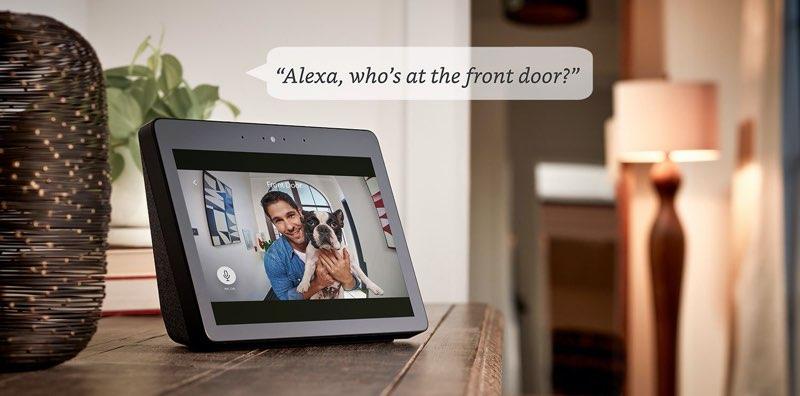 Ring deurslot werkt met Alexa
