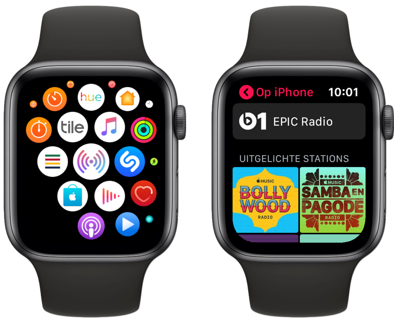 Apple Watch Radio-app.