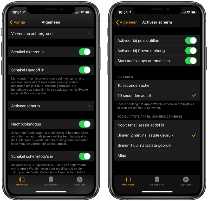 Start audio apps automatisch op Apple Watch.