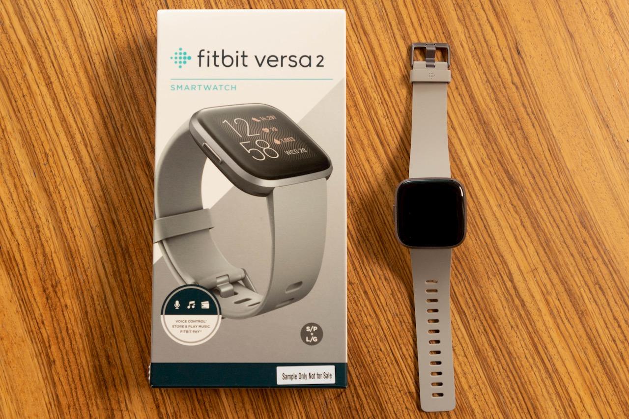 Fitbit Versa 2 doos en horloge