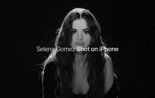 Selena Gomez Shot on iPhone