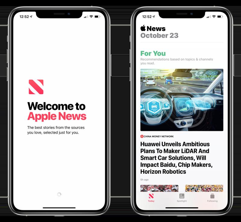 Apple News: starten en bekijken