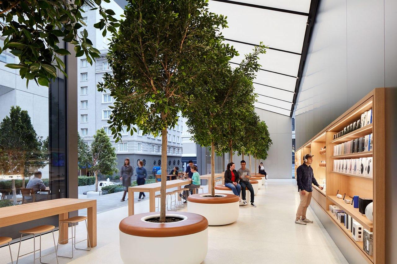 Apple Store bomen