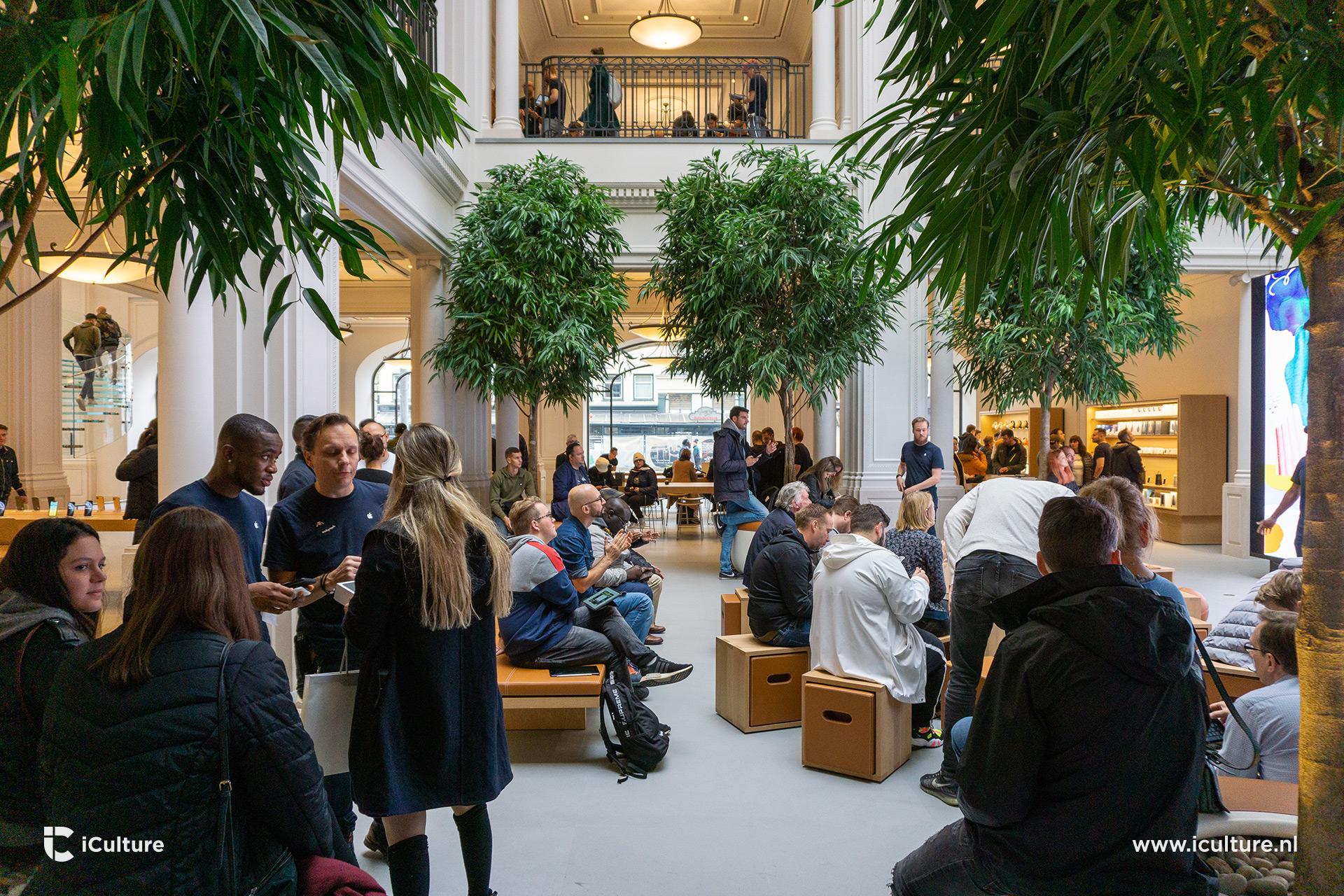 Today at Apple-sessie in het nieuwe Forum in de Apple Store Amsterdam.
