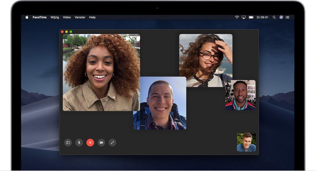 FaceTime met groep