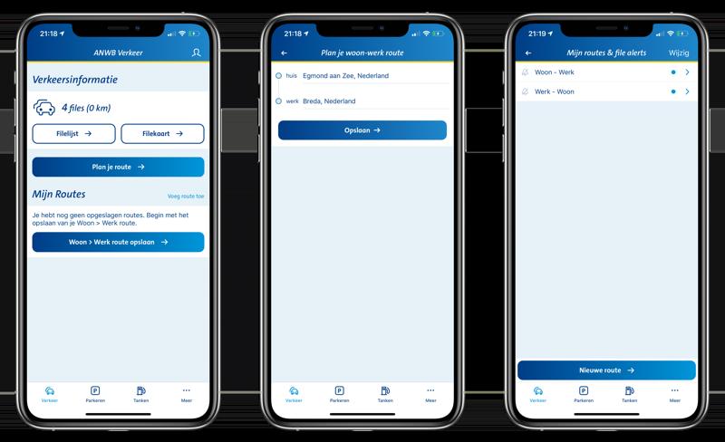 File-alert aanmaken in ANWB Onderweg-app