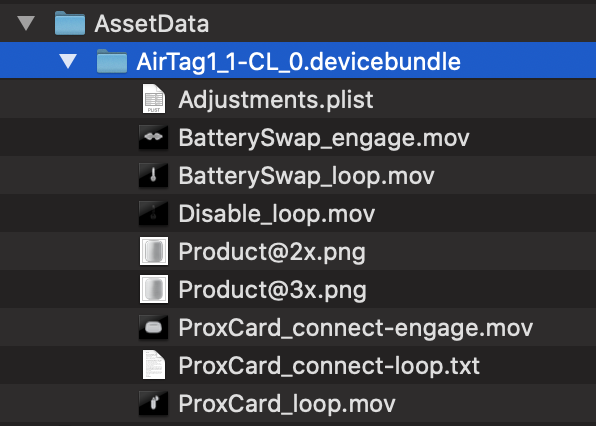 AirTag in code iOS 13.2