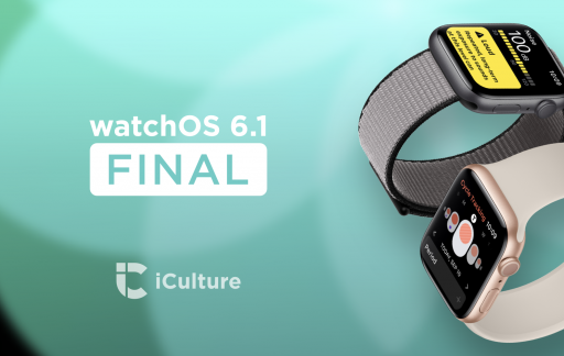 watchOS 6.1 Final.