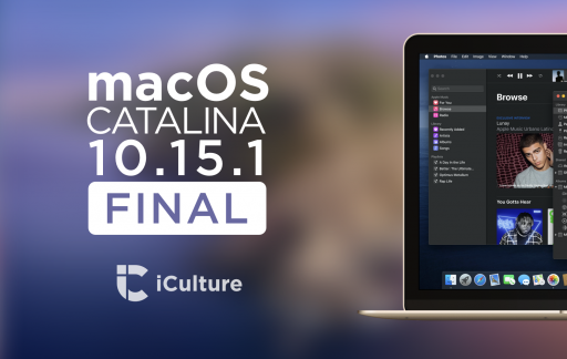 macOS Catalina 10.15.1.