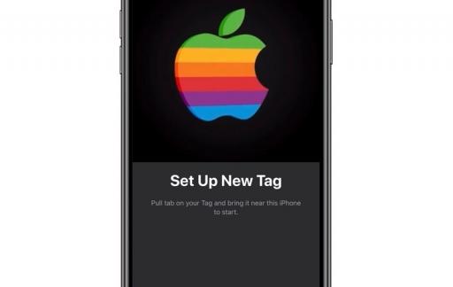 AirTag setup in Zoek Mijn-app.