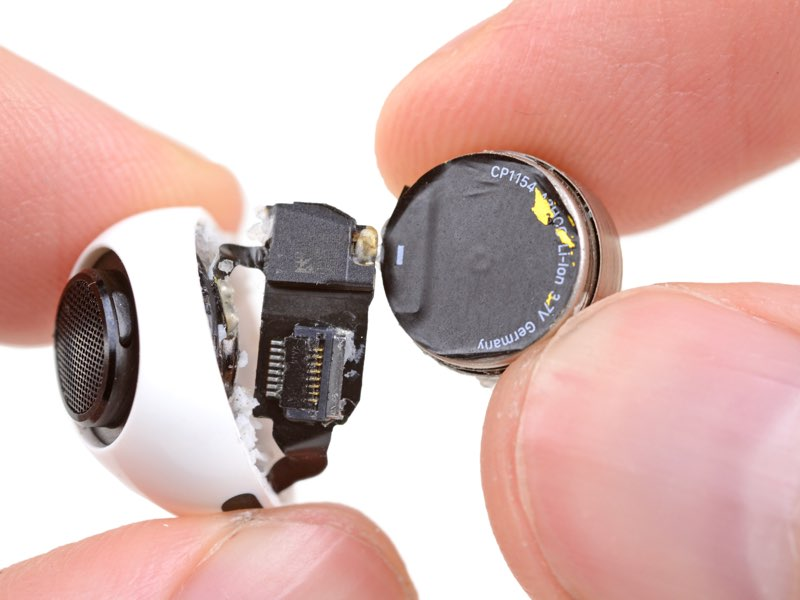AirPods Pro iFixit teardown: batterij