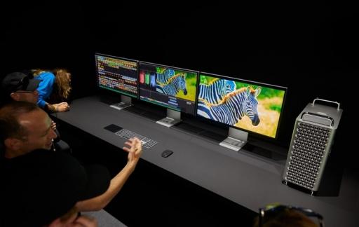 Zilver zwarte accessoires voor Mac Pro
