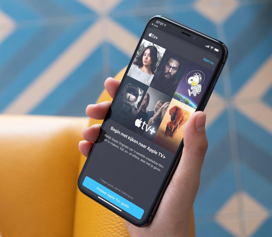 Apple TV+ gestart