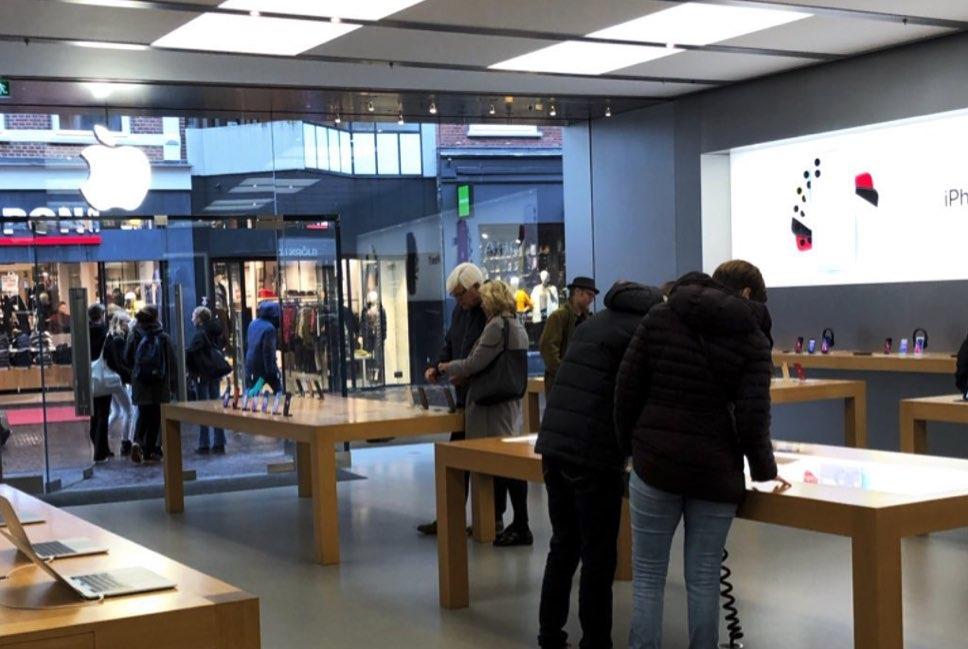 Apple Haarlem inbraak