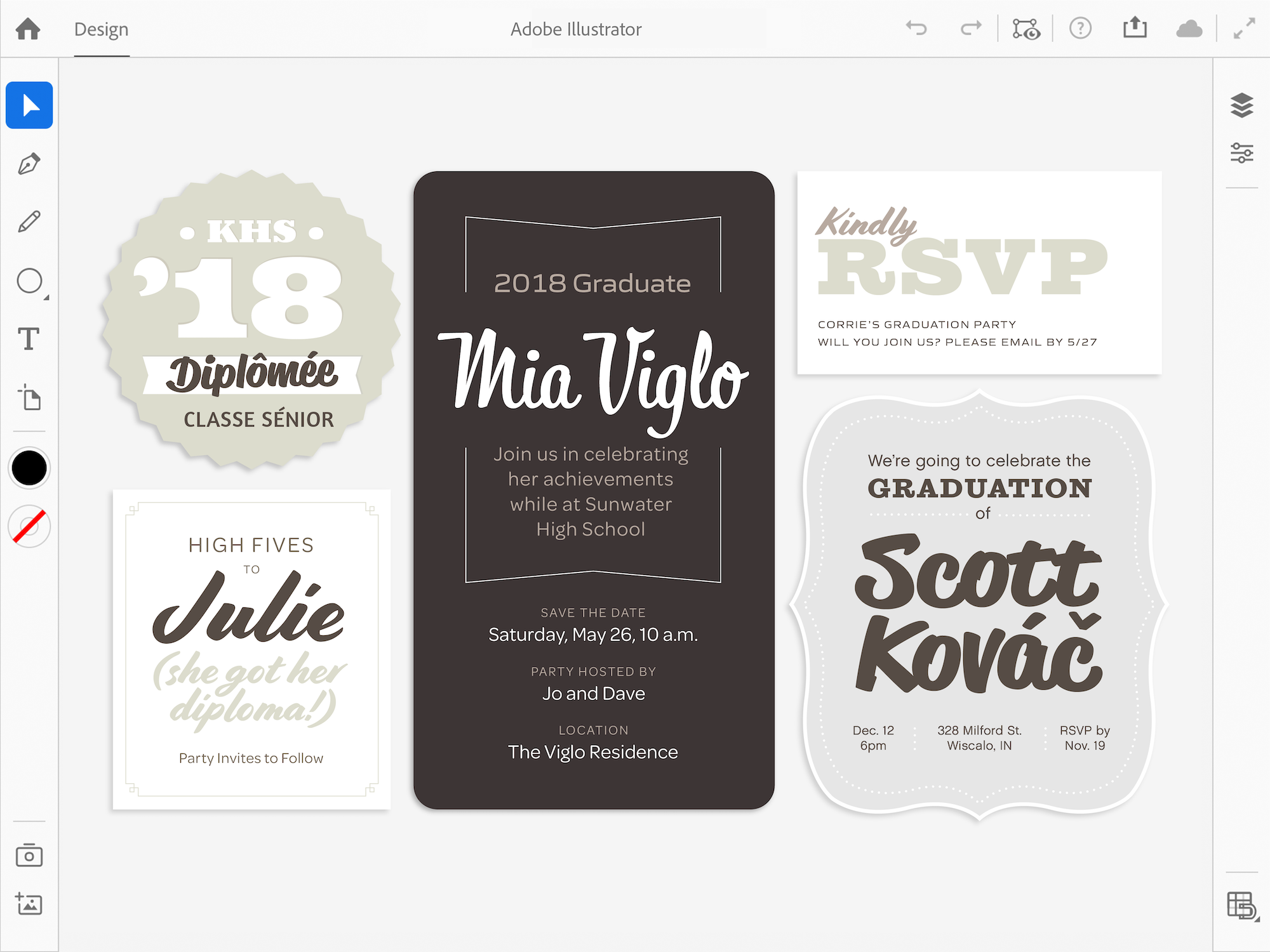 Adobe Illustrator voor iPad