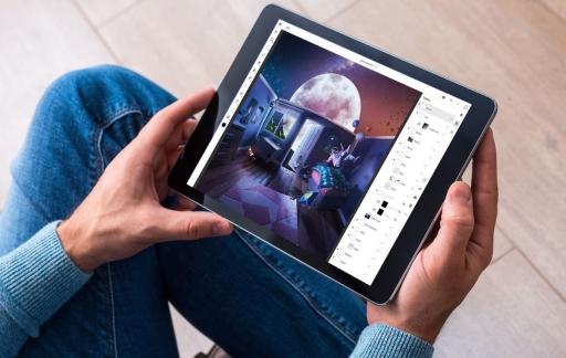 Photoshop op iPhone en iPad