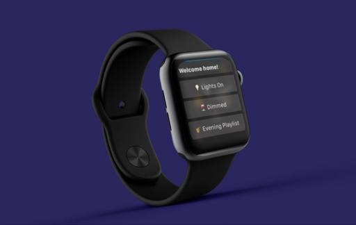 Pushcut op Apple Watch voor HomeKit.