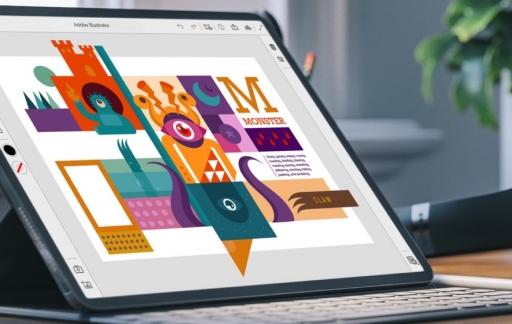 Illustrator op iPad