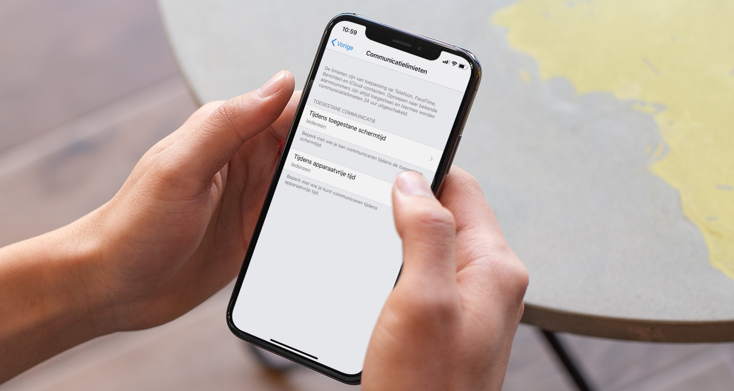 iOS 13.3 communicatielimieten.