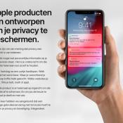 Apple Privacy pagina