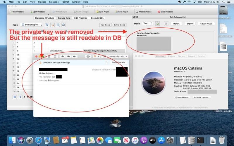 Siri-bug Mail