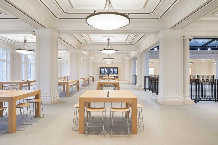 Apple Amsterdam interieur
