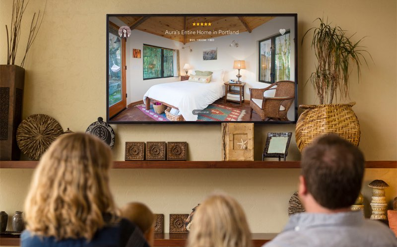 Beste Apple TV-apps: Airbnb