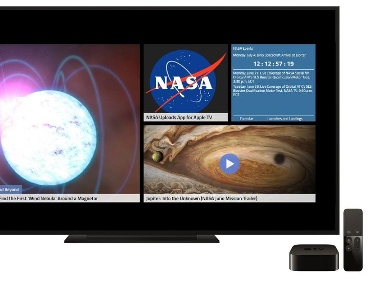 Nasa op Apple TV