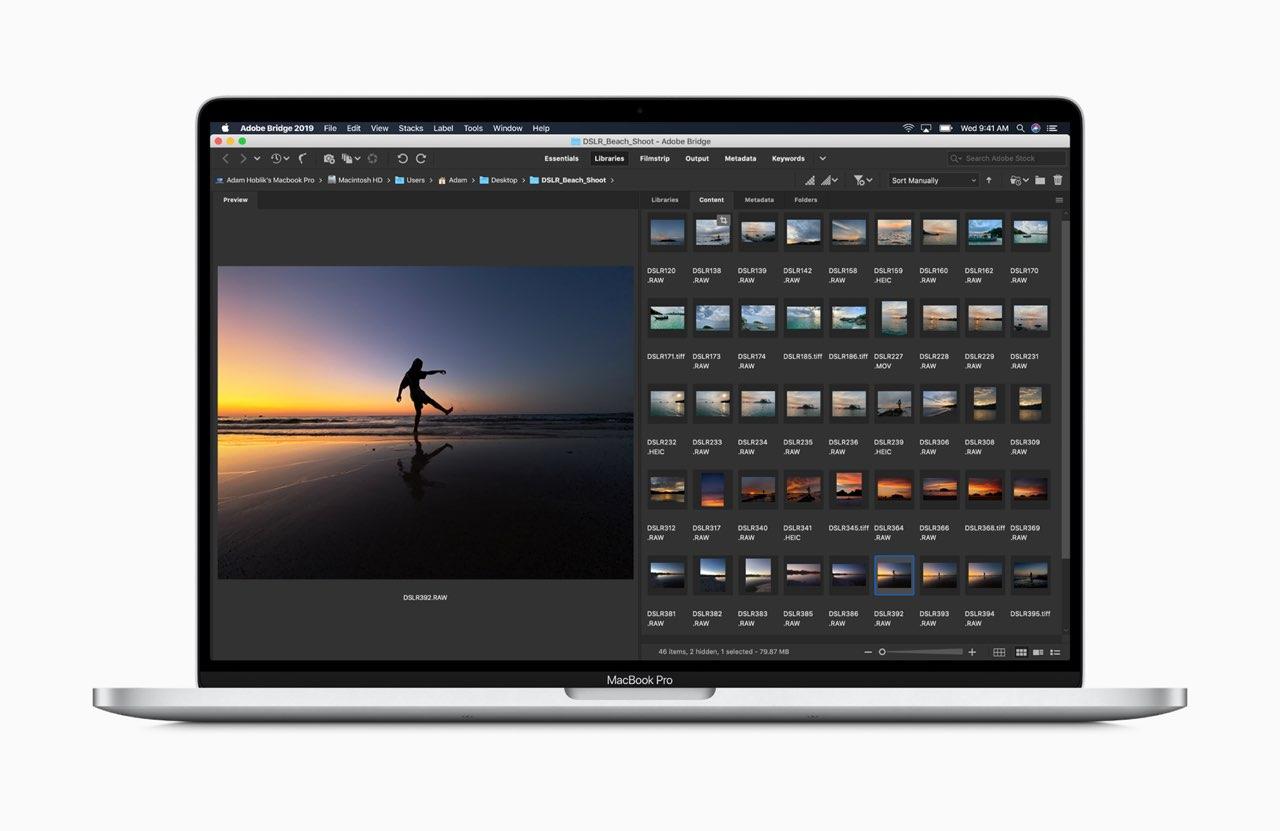 16-inch MacBook meer geheugen voor fotografie