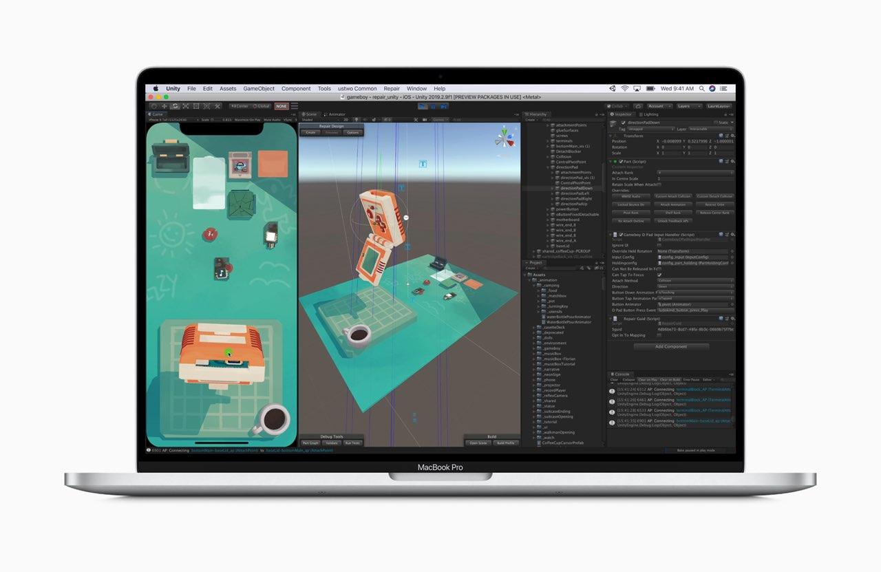 16-inch MacBook meer geheugen voor design