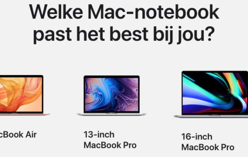 MacBook 2019 lineup