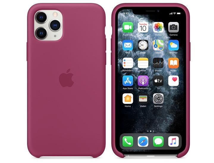 iPhone 11 Pro siliconenhoesje najaar 2019