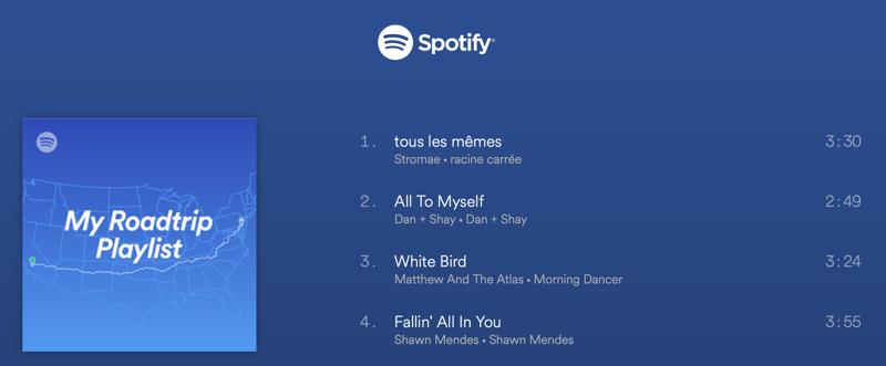 Spotify Soundtrack your Ride: de afspeellijst